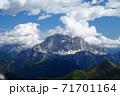 ドロミテ チベッタ山 71701164