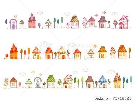 家が並ぶ 71719539