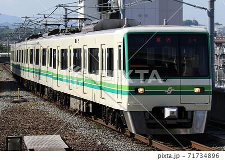【仙台市地下鉄】八乙女駅に入る南北線の1000N系 71734896