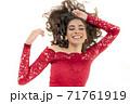 Charming Happy Woman 71761919
