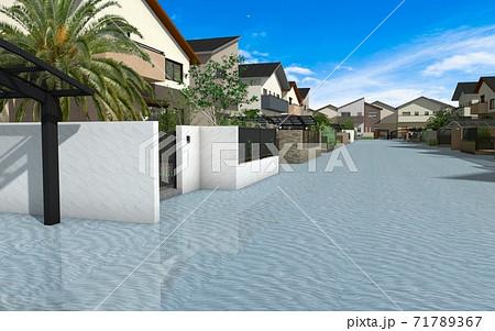 水害イメージ 71789367