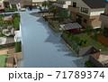 水害イメージ 71789374