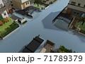 水害イメージ 71789379