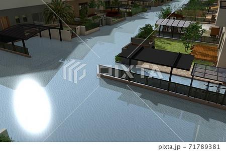 水害イメージ 71789381