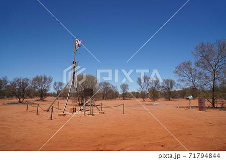 オーストラリアの地理的な中心地、ランバート・センター 71794844