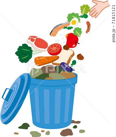 食品ロス 捨てられる食べ物 71815121