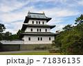 松前城の天守:北海道松前町 71836135