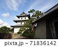松前城の天守:北海道松前町 71836142