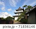 松前城の天守:北海道松前町 71836146
