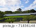 松前城の天守:北海道松前町 71836148