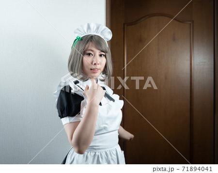 【キッチン】メイド:キッチンのメイドさん 71894041