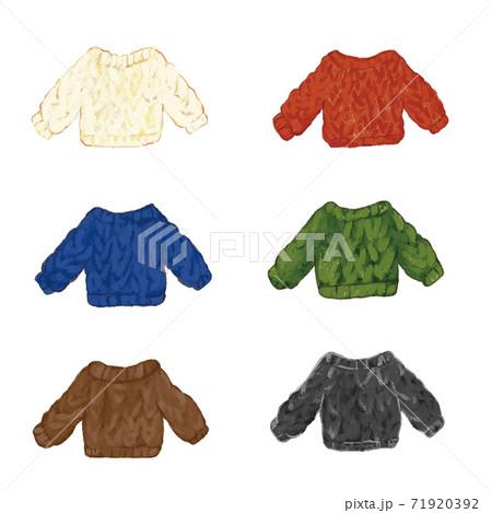 もこもこのセーター6色セット 71920392