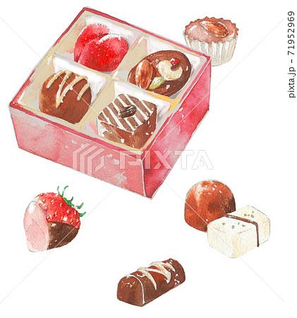 チョコレートボックス 71952969