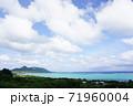 沖縄の海と空と雲 71960004