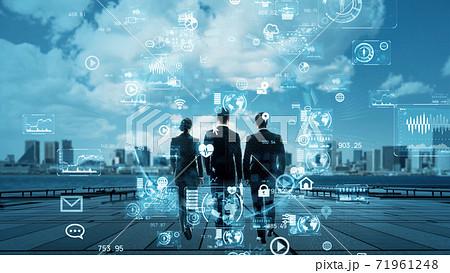 ビジネスとテクノロジー 71961248
