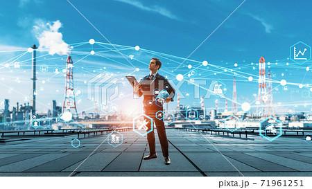 産業とテクノロジー エンジニア 71961251