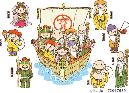 七福神セット 72017689