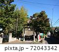 栗木神社(横浜市磯子区栗木町) 72043342