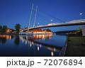 Pedestrian Bridge in Mikolajki 72076894