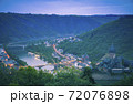 Panorama of Cochem 72076898