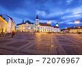 Holy Trinity Church and Sibiu City Hall 72076967