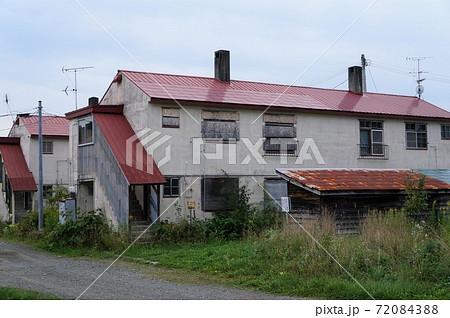 夕張市清水沢 旧炭鉱住宅群 72084388