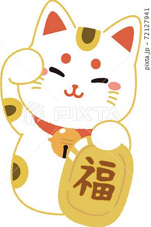 招き猫 72127941