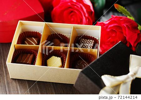 バレンタイン・チョコレート 72144214