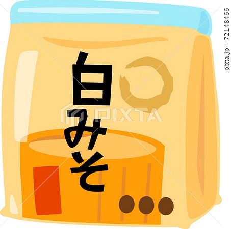 袋入りの白味噌 72148466