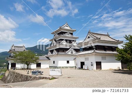 大洲城 -左右の二重櫓を従えた四重天守- 愛媛県大洲市大洲 72161733