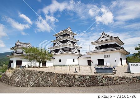 大洲城 -左右の二重櫓を従えた四重天守- 愛媛県大洲市大洲 72161736