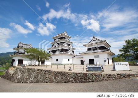 大洲城 -左右の二重櫓を従えた四重天守- 愛媛県大洲市大洲 72161738