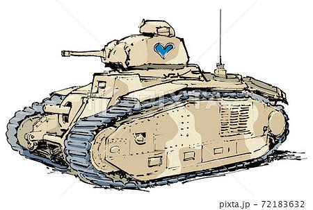 ルノーB1戦車 72183632