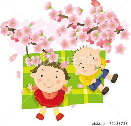 お花見だんご 72183738