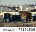 廃工場 解体作業中 72191586
