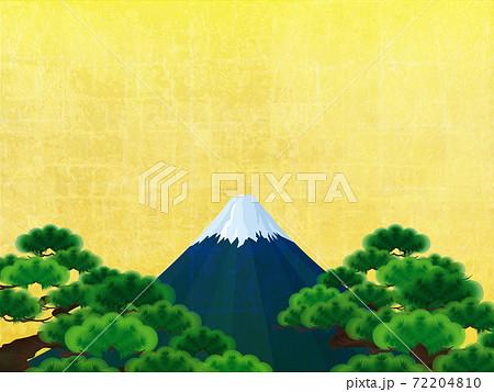 松と富士 72204810