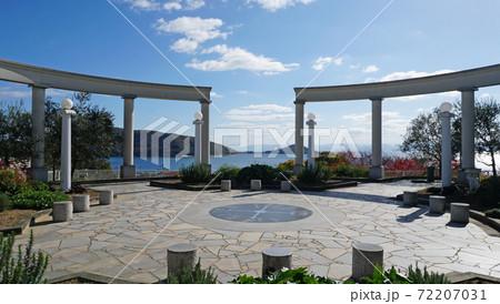 広場から見る瀬戸内海の風景(小豆島) 72207031
