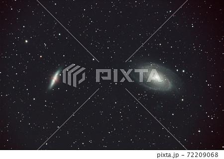 おおぐま座のM81とM82銀河 72209068
