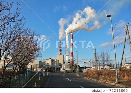 製紙工場の街・苫小牧 72211866