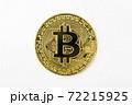 【仮想通貨】ビットコイン 白背景 72215925
