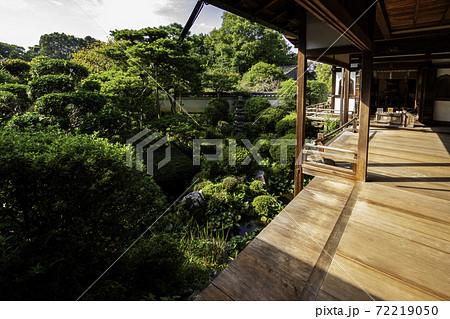 長岳寺 旧地蔵院 庭園 奈良県天理市 72219050