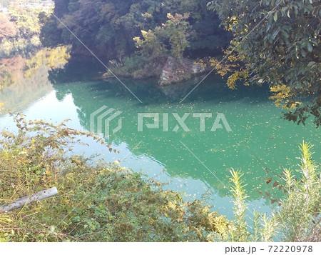 自然の中のエメラルドグリーンの川 72220978