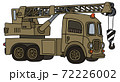 The funny old military truck crane 72226002