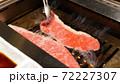 焼肉!牛ロース鉄板焼き 72227307