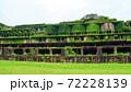 まるで天空の城ラピュタの世界のような蔓草に覆われた産業遺産の廃墟 72228139