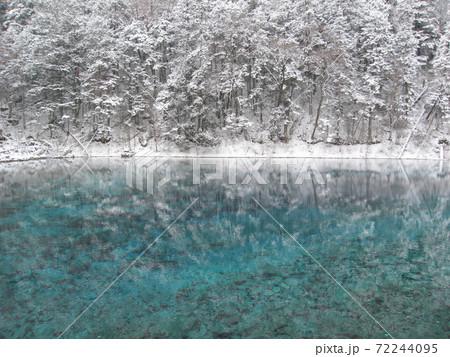 中国世界遺産「冬の九寨溝」 72244095