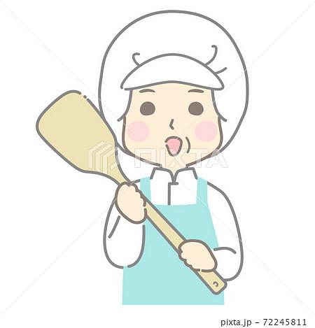 給食センター 食品製造 食品加工 調理加工 調理スタッフ  - 頭身高め 72245811