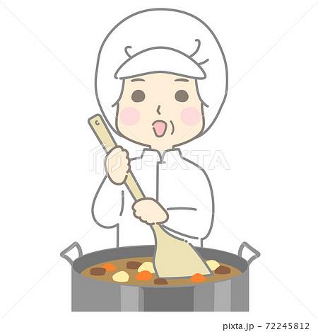 給食センター 食品製造 食品加工 調理加工 調理スタッフ  - 頭身高め 72245812