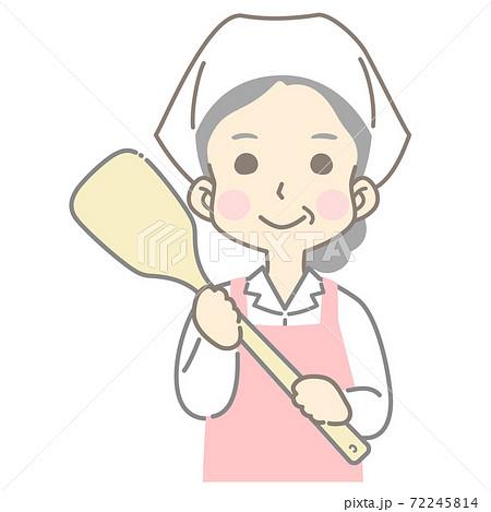 給食センター 食品製造 食品加工 調理加工 調理スタッフ  - 頭身高め 72245814