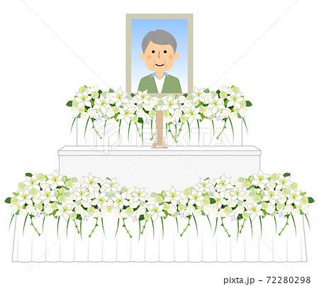 お葬式 祭壇 72280298